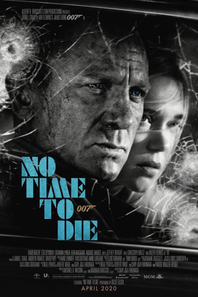 no time to die, poster, greg williams, greg williams photography, daniel craig, lea seydoux