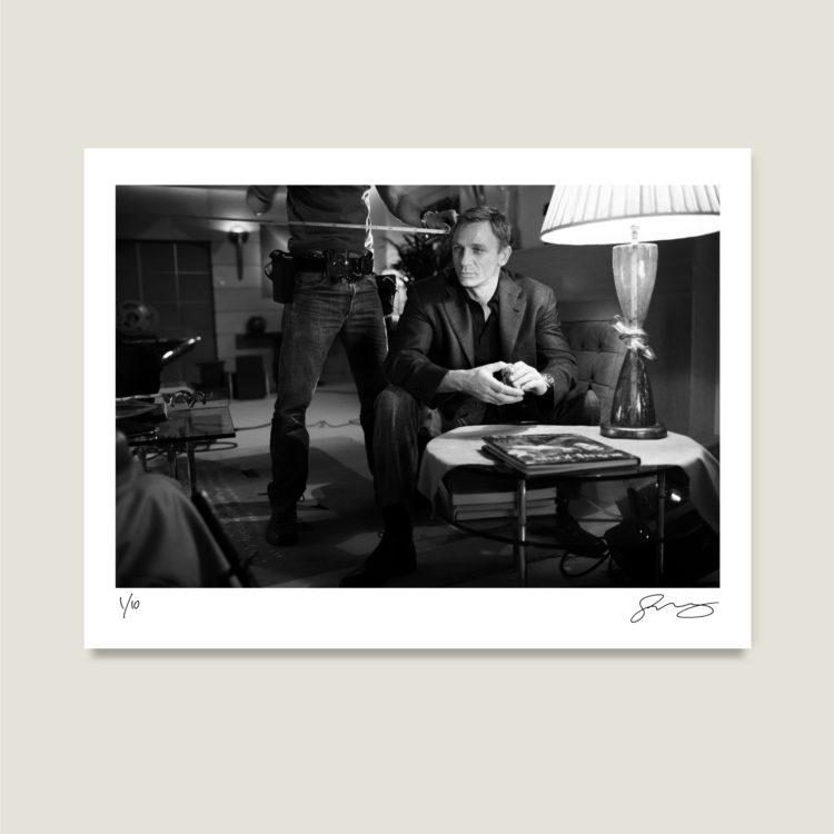 007, gwp, greg williams photography, james bond, on set, photographic prints, limited edition, signed prints, eon, daniel craig