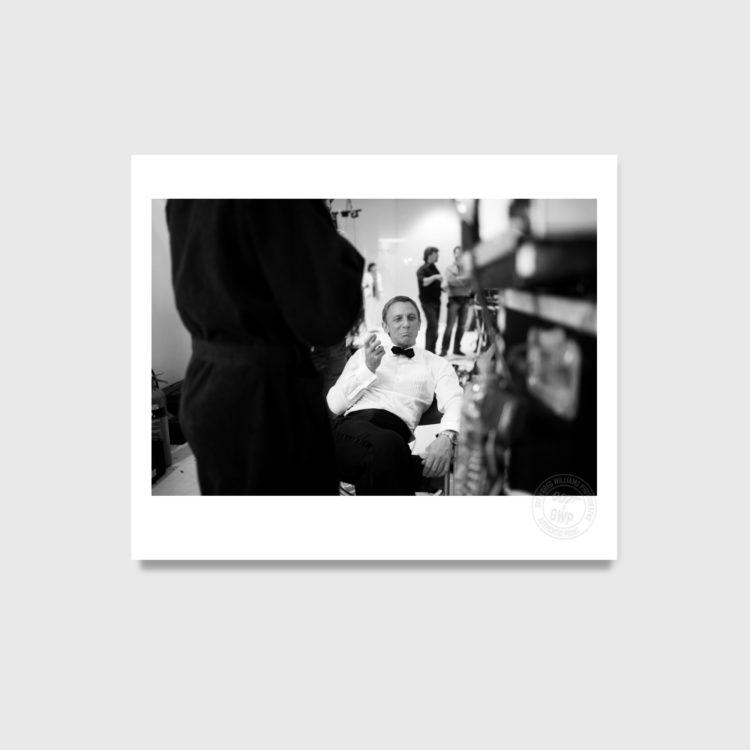 007, gwp, greg williams photography, james bond, on set, photographic prints, box sets, eon, daniel craig